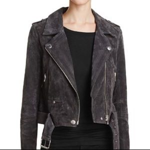 Blank NYC Suede Moto Jacket in XS blanknyc
